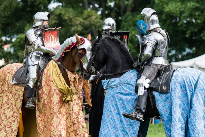 Meeting after joust